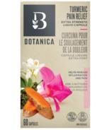 Botanica Turmeric Extra Strength Pain Relief Liquid Capsules