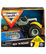 Monster Jam Official Soldier Fortune Rev 'N Roar Monster Truck