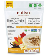 Nutiva Organic Flax & Chia Seed Blend Maple Vanilla