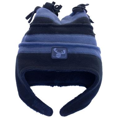 Calikids Two Tone Microfleece Hat Graphite & Black