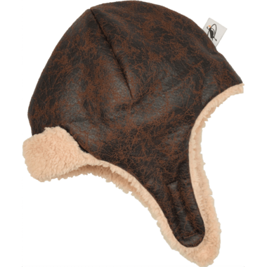 Puffin Gear Pilot Helmet Brown
