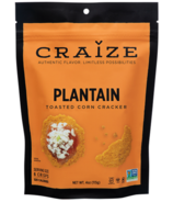 Craize Plantain Toasted Corn Crackers