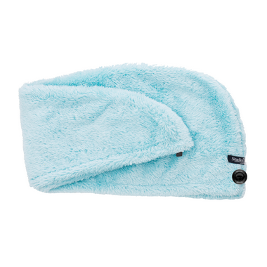 Studio Dry Turban Hair Towel in Blue