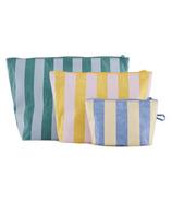 Baggu Go Pouch Set Pastel Stripes
