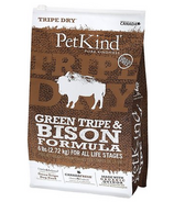 PetKind Tripe Dry Green Tripe and Bison Dog Food