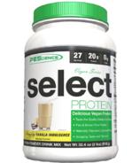 PEScience Select Protein Vegan Vanilla Indulgence