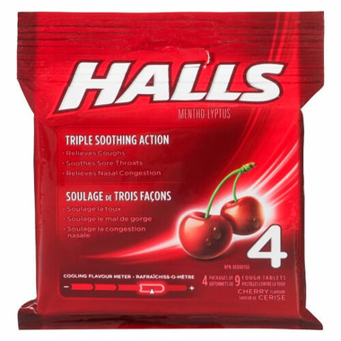 Halls Multi Lozenges Cherry