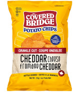 Covered Bridge Cheddar Cheese Crinkle Cut Chips
