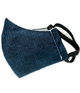 Colibri Cotton Face Mask Blue Linen