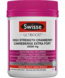 Swisse Ultiboost High Strength Cranberry Value Size