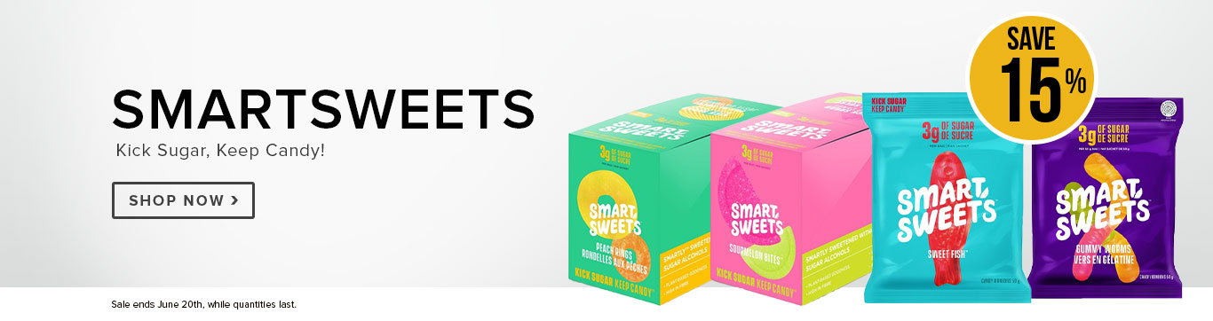 Save 15% on Smartsweets