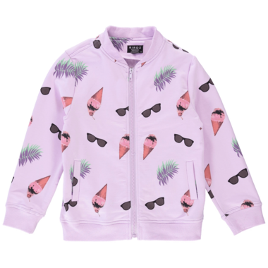 BIRDZ Children & Co. Lilac Venice Bomber