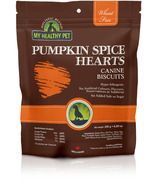 Holistic Blend Canine Biscuits Pumpkin Hearts