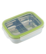 Innobaby Keepin' Fresh Kids Stainless Divided Bento Green