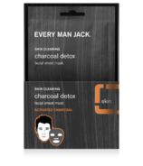 Every Man Jack Charcoal Facial Sheet Mask