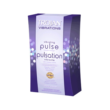 Trojan Vibrations Pulse Vibrating Intimate Massager