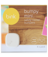 Bink White Bumpy Mini Safety Corner Cushions