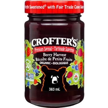 Crofter\'s Organic Berry Harvest Premium Spread