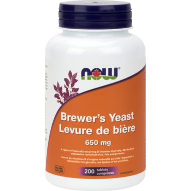 NOW Foods Brewer\'s Yeast 650 mg