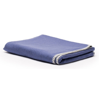 Halfmoon Silk Savasana Blanket Indigo