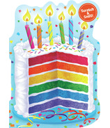 Peaceable Kingdom Rainbow Cake Scratch and Sniff Card