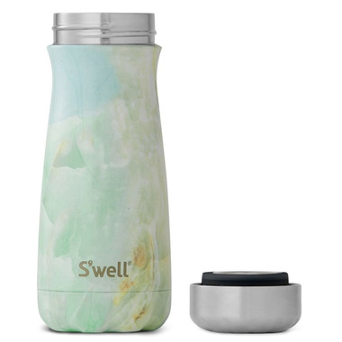 S\'well Traveler Stainless Steel Wide Mouth Bottle Opal Marble
