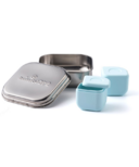 Miniware Grow Bento with 2 Silipods Chrome & Aqua