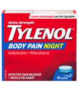 Tylenol douleur corporelle extra fort nuit caplets