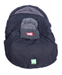 Baby Parka Carseat Cover Black