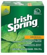 Irish Spring Bar Soap Regular 3 Pack