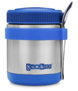 Yumbox Neptune Blue Zuppa with Spoon and Silicone Band