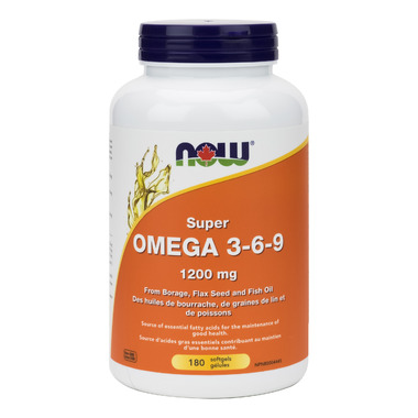 NOW Foods Super Omega 3-6-9 1200 mg