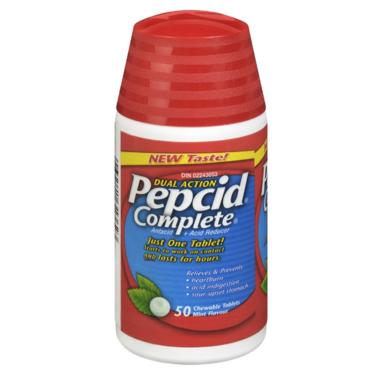 Pepcid Complete Chewable Mint Tablets