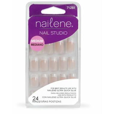 Nailene Nail Studio Artificial Nails Pink