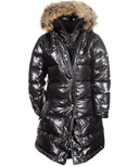 Appaman Long Down Coat Sparkle Black