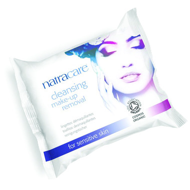 Natracare Cleansing Makeup Removal Wipes
