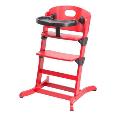 Guzzie & Guss Banquet Wooden High-Chair Strawberry