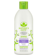 Nature's Gate Lavender + Peony Replenishing Shampoo
