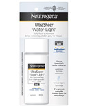 Neutrogena Ultra Sheer Water-Light Daily Facial Sunscreen SPF 60