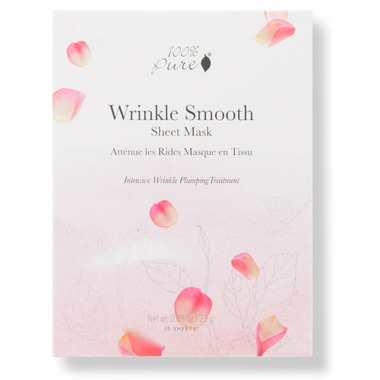 100% Pure Sheet Mask Wrinkle Smooth Box