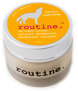 Routine De-Odor-Cream Natural Deodorant in Bonita Applebom Scent
