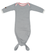 Juddlies Cottage Collection Organic Nightie Driftwood Grey