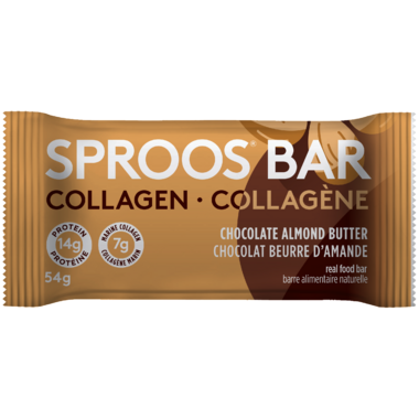 Sproos Collagen Bar Chocolate Almond Butter