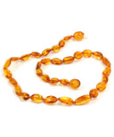 Momma Goose Amber Teething Necklace