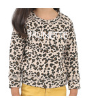Brunette the Label Brunette Kids Sweatshirt Crew Leopard Print