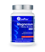 CanPrev Magnesium + Taurine with B6 & Zinc for Cardio