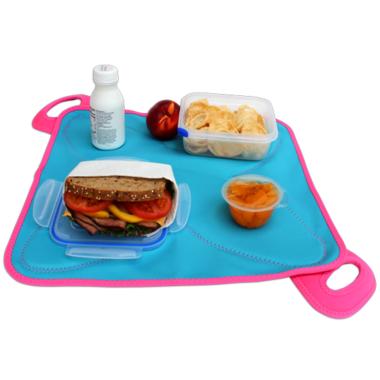 FlatBox Lunch Bag Original Blue Pink