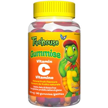Webber Naturals Treehouse Vitamin C Gummies 125 mg