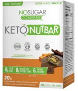 No Sugar Company NutBar Salted Caramel & Dark Chocolate