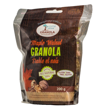 Living Alive Granola Maple Walnut Granola
